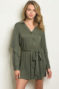 S19-2-2-D10196 OLIVE DRES 2-2-2