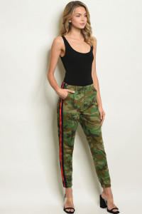 S20-3-3-P1623 MILITARY CAMOUFLAGE PANTS 2-2-2