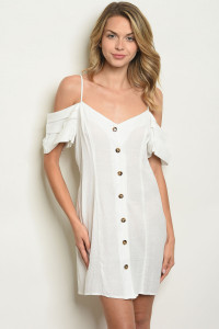 S19-1-5-D10250 OFF WHITE DRESS 2-2-2