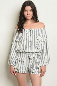 S19-10-2-R266262 BLUE STRIPES ROMPER 2-2-1-1
