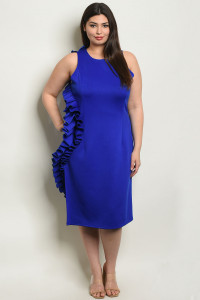 S5-3-3-D1062X ROYAL PLUS SIZE DRESS 2-2-2