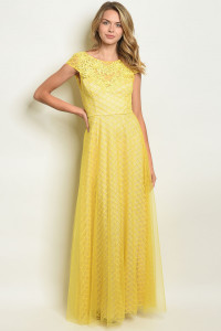 S17-8-1-D27500 YELLOW DRESS 1-1-1