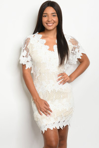 S2-5-1-D16840 WHITE NUDE DRESS 2-2-2