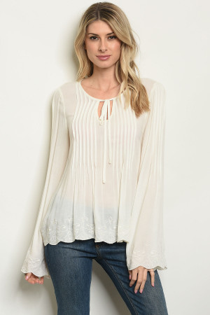 S23-12-2-T8556 IVORY TOP 3-3-1