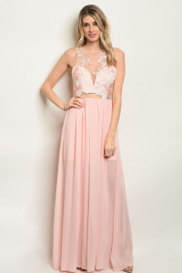 S20-9-3-D7872 BLUSH EMBROIDERY DRESS 2-2-2
