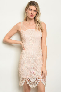 S10-16-2-D16854 BLUSH NUDE DRESS 3-2-1