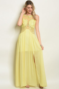 S9-16-2-D17576 YELLOW DRESS 3-2-2