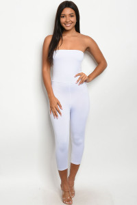C82-A-74-J3369 WHITE JUMPSUIT 2-2-2