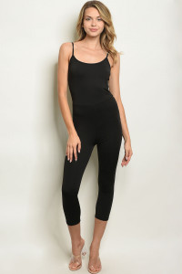 C97-A-3-J3365 BLACK JUMPSUIT 2-2-2