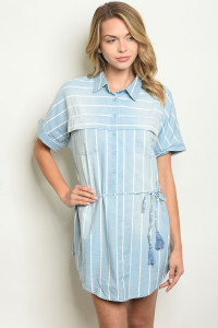S22-13-1-T2186 BLUE STRIPES TOP 3-1-1