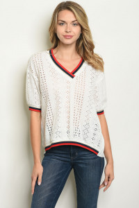 S21-5-2-T9928 OFF WHITE TOP 2-2-2