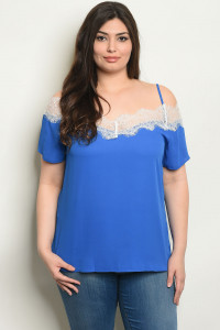 S13-12-3-T38718X ROYAL PLUS SIZE TOP 2-2-2