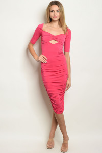 C97-A-3-D7479 FUCHSIA DRESS 2-2-2