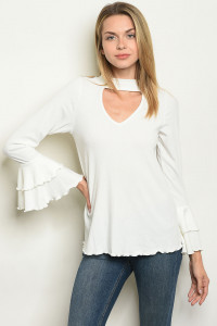 C66-B-6-T50401 OFF WHITE TOP 2-2-2