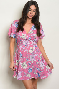 C70-A-3-D32192 LAVENDER FLORAL DRESS 2-2-2