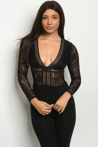 S25-4-4-B55450 BLACK BODYSUIT 1-2-2-2-1