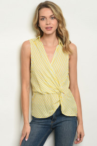 S21-5-3-T10349 YELLOW GREEN TOP 3-2-1