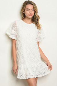 S12-8-3-D42716 OFF WHITE DRESS 2-2-2