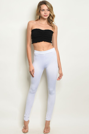 C29-A-6-L5881 WHITE LEGGINGS 2-2-2