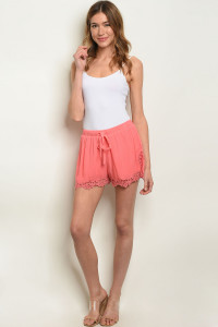 S13-6-2-S70045 CORAL SHORTS 2-2-2