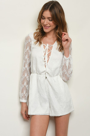 S22-12-5-R6109 OFF WHITE ROMPER 1-2-2-1