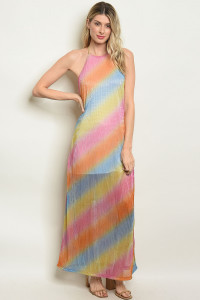 S18-8-2-D5846 MULTI COLOR DRESS 3-2-2