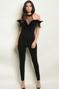S22-3-1-J4670 BLACK JUMPSUIT 2-2-2