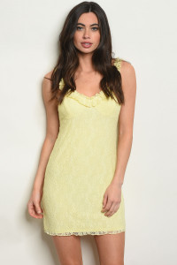 S25-8-1-D2788 YELLOW DRESS 3-2-1