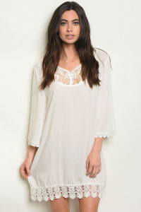 S4-3-4-D8957 OFF WHITE DRESS 2-2-2