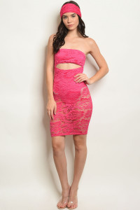 C78-A-2-D50782 FUCHSIA DRESS 3-2-1