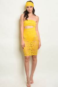 C76-A-2-D50782 YELLOW DRESS 3-2-1