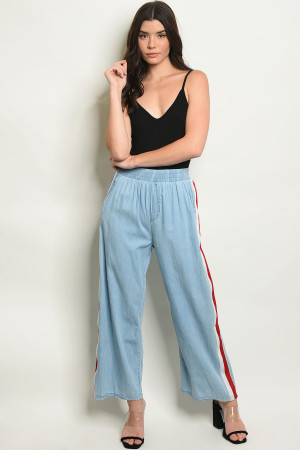 S18-2-3-P1800 BLUE RED PANTS 2-2-2