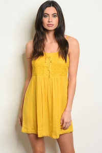 S18-7-4-D6940 YELLOW DRESS 2-2-2