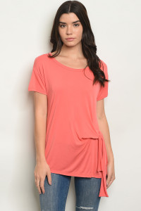 C43-A-6-T0818 CORAL TOP 2-2-2