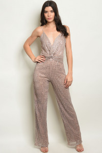 S11-15-5-NA-J5338 MAUVE SILVER WITH SEQUINS JUMPSUIT 3-2-1