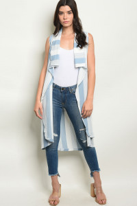 S20-8-3-V20021 BLUE STRIPES VEST 2-2-2