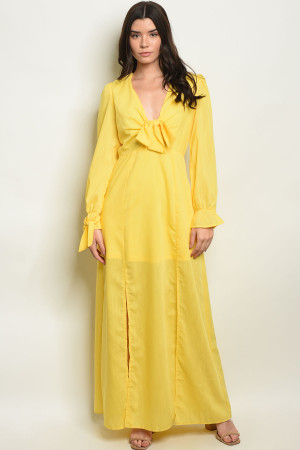 SA3-5-2-D020519 YELLOW DRESS 2-2-2
