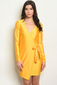 S3-7-4-D63606 YELLOW DRESS 2-2-2