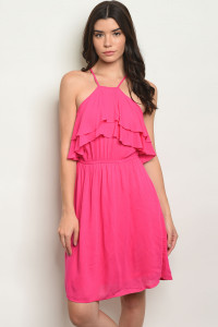 S16-7-6-D38730 FUCHSIA DRESS 2-2-2