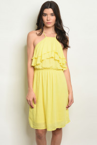 S16-7-6-D38730 YELLOW DRESS 2-2-2