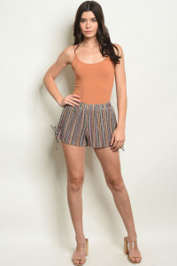 S21-12-3-S1260229 MULTI STRIPES WITH SHIMMER SHORTS 2-3