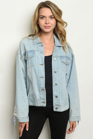 S9-10-1-J22307 LIGHT BLUE JACKET 3-2-1
