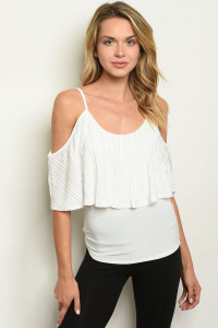 C80-B-4-T2882 OFF WHITE TOP 2-2-2