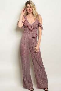S9-18-1-J31125 RED BLACK JUMPSUIT 3-2-2