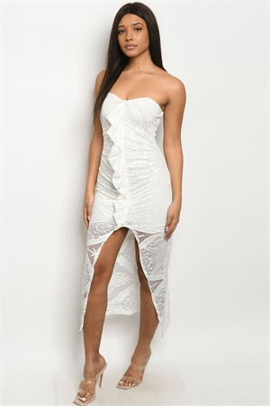 C63-A-6-D4061 OFF WHITE DRESS 3-2-1