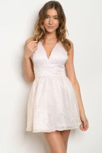 S9-18-2-D14915D PINK WITH GLITTER DRESS 5-2  ***WARNING: California Proposition 65***