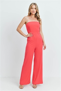 S8-4-3-J0212 FUCHSIA OFF SHOULDER JUMPSUIT 3-2-1