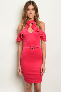 S17-1-5-D33927 FUCHSIA DRESS 1-1-1