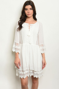 S6-3-5-D1059 OFF WHITE DRESS 2-2-2