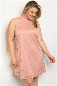 S17-7-3-D5020X BLUSH PLUS SIZE DRESS 1-1-1